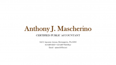 Anthony Mascherino CPA