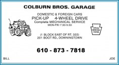 Colburn Bros. Garage