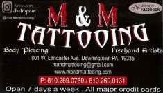 M&M Tatooing