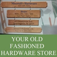 Maxwell's Hardware